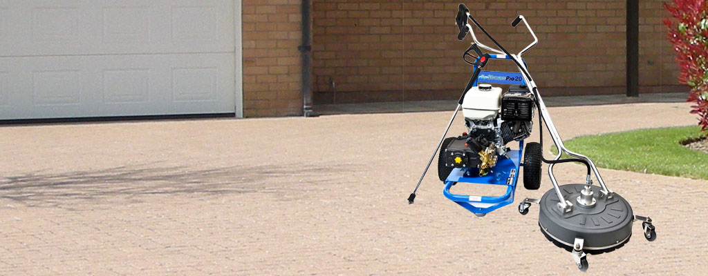 Paving cleaning machine hire