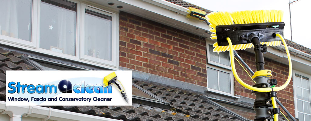Gutter cleaning machine hire for soffits